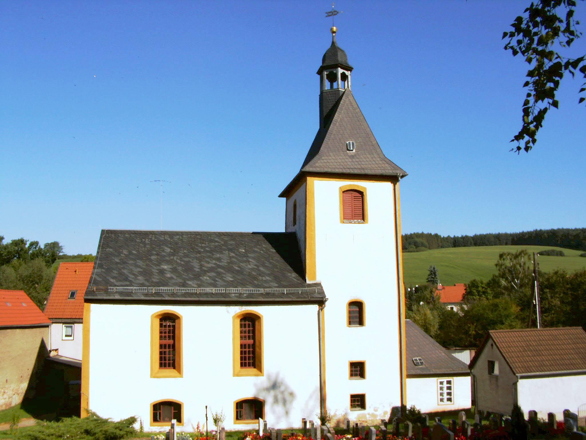 Die St. Valentinskirche in Sirbis